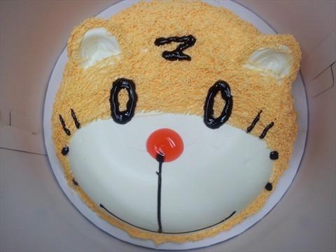 可爱的小老虎蛋糕o(∩_∩)o