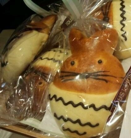 龙猫面包很可爱